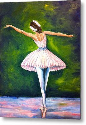 Ballerina Metal Print by Tiffany Albright