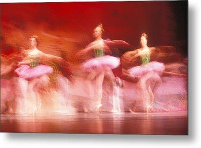 Ballet Dancers Metal Print