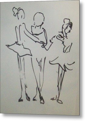 Ballet In The Park Metal Print by James Christiansen