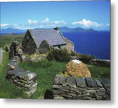 Ballinskelligs, Iveragh Peninsula Metal Print by The Irish Image Collection