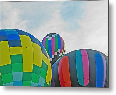 Balloon Cluster Metal Print by Carolyn Meuer-Pickering of Photopicks Photography and Art