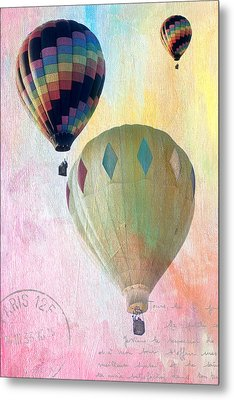 Balloon Flight Metal Print