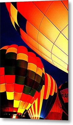 Balloon Glow 1 Metal Print by Marty Koch