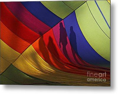 Balloon Shadows Metal Print
