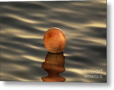 Balloons On The Water Metal Print by Odon Czintos