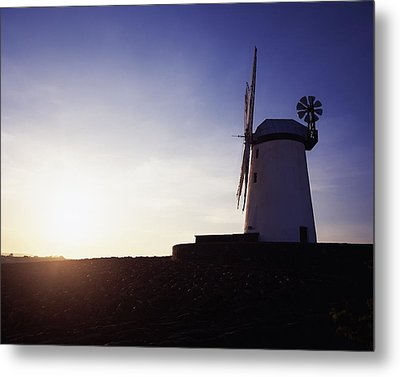 Ballycopeland Windmill, Co. Down Metal Print by The Irish Image Collection