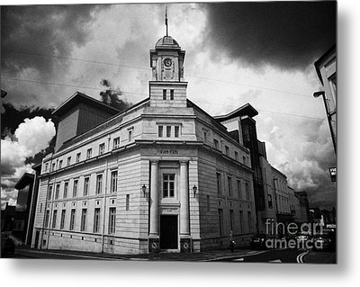 Ballymena Town Hall Now Part Of The Braid Museum And Arts Complex Ballymena  Metal Print by Joe Fox