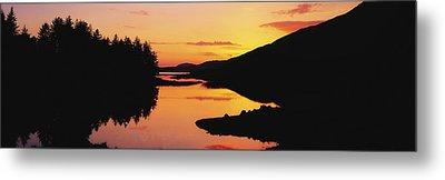 Ballynahinch Lake, Connemara, Co Metal Print by The Irish Image Collection