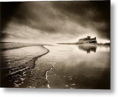 Bamburgh Castle Metal Print by Simon Marsden
