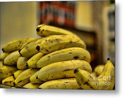 Bananas Metal Print by Paul Ward