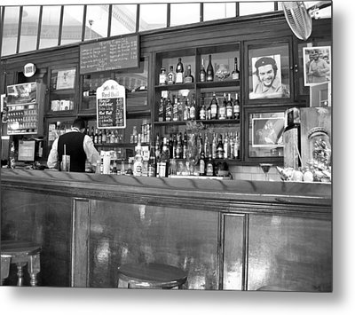 Metal Print featuring the photograph Bar In Old Havana by Lynn Bolt