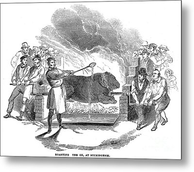 Barbecue, 1844 Metal Print by Granger