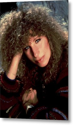 Barbra Streisand In Columbia Records Metal Print by Everett