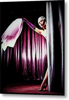 Bardot Metal Print by Mary Morawska