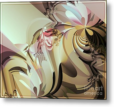 Barely Dusk Metal Print by Michelle H