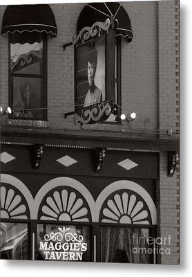 Metal Print featuring the photograph Barhopping At Maggies 1 by Lee Craig
