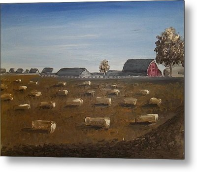 Barn Metal Print by Angela Stout