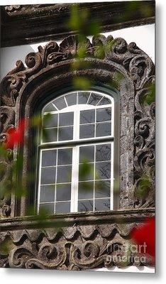 Baroque Style Window Metal Print by Gaspar Avila