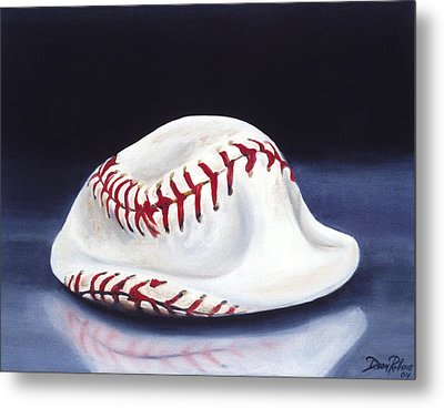 Baseball '04 Metal Print by Redlime Art
