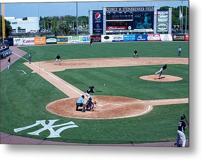 Baseball Dreams Metal Print by Michael Albright