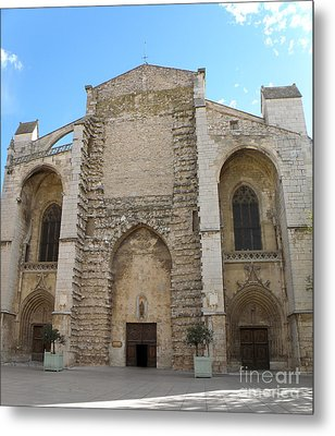 Basilica Of Saint Mary Madalene Metal Print