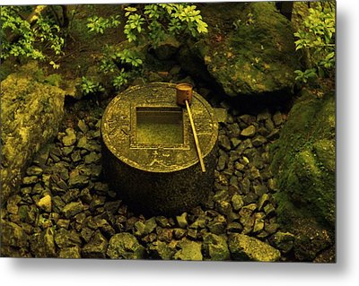 Metal Print featuring the photograph Basin To Purify And Humble by Craig Wood