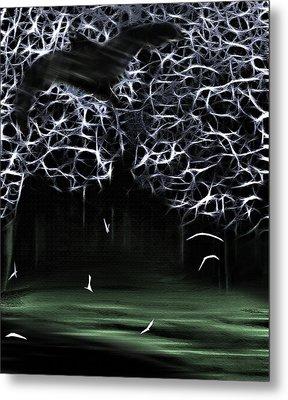Bat Cave 2 Metal Print by Steve Ohlsen