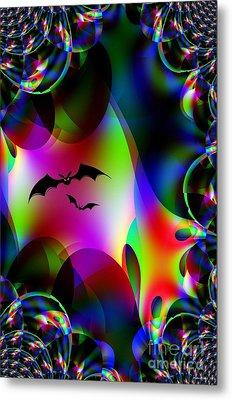 Bat Cave Metal Print by Maria Urso