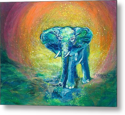 Bathe Me In Thy Light Metal Print by Ashleigh Dyan Bayer