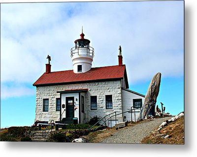 Metal Print featuring the photograph Battery Point Lighthouse by Jo Sheehan