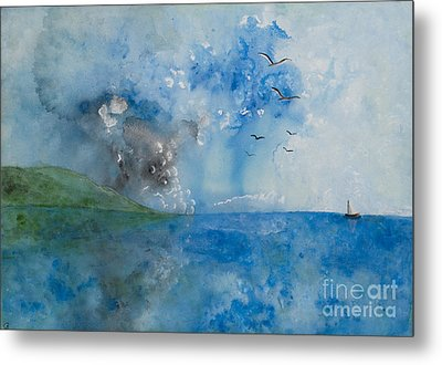 Be Still And Know Metal Print by Barbara McNeil