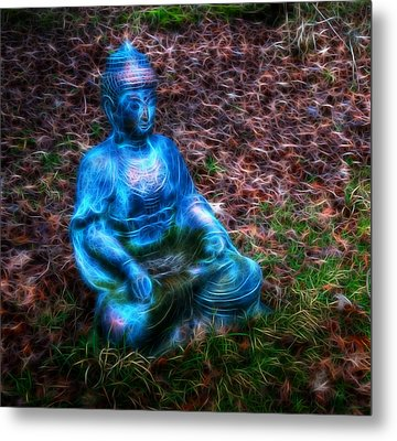 Metal Print featuring the photograph Be Still by Joetta West