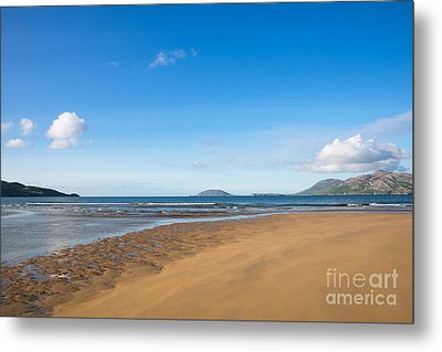 Beach Ireland Metal Print by Andrew  Michael