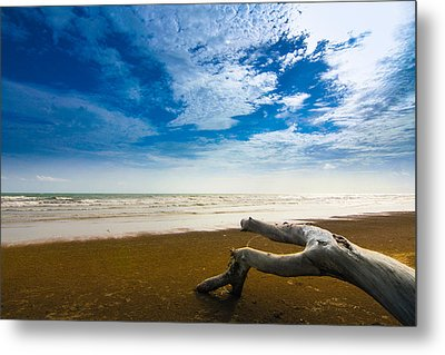 Beach Metal Print by Nawarat Namphon