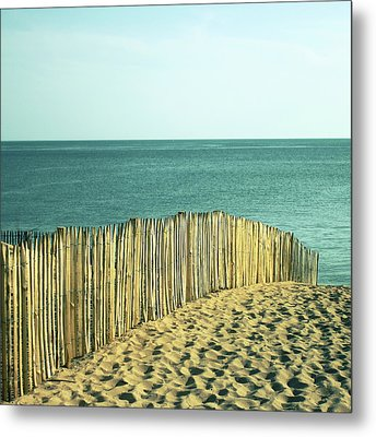 Beach Metal Print by SylvainCollet