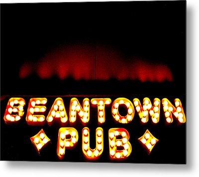 Beantown Pub Metal Print by Sheryl Burns