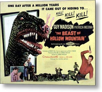 Beast Of Hollow Mountain, 1956 Metal Print by Everett