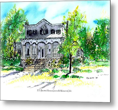 Beattie House Metal Print