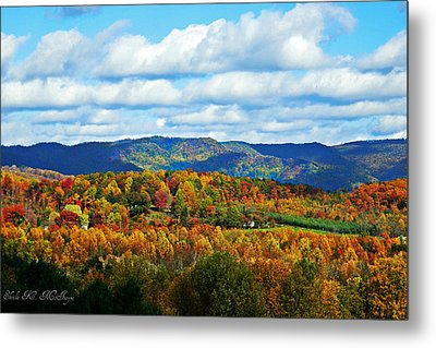 Beautiful Blue Ridge Mountains Metal Print