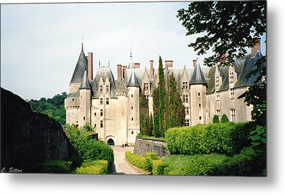 Beautiful Chambord Castle Metal Print by C Sitton