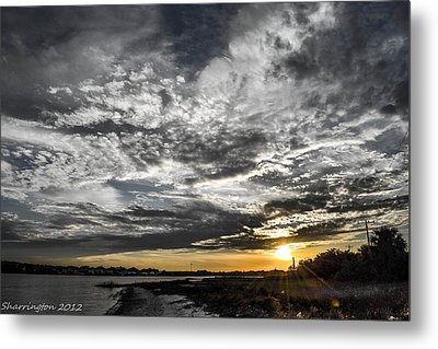 Beautiful Days End Metal Print by Shannon Harrington