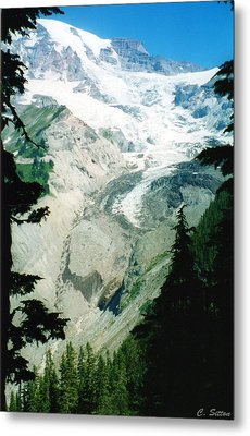 Beautiful Glacier Metal Print by C Sitton