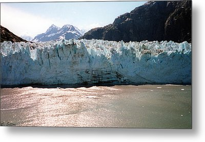 Beautiful Margerie Glacier Metal Print by C Sitton