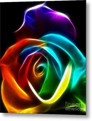 Beautiful Rose Of Colors No3 Metal Print