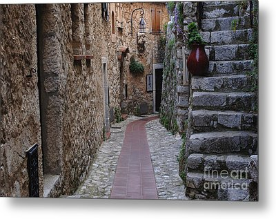 Beauty Of Eze France Metal Print by Bob Christopher