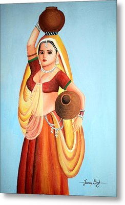 Beauty With Simplicity Metal Print by Tanmay Singh