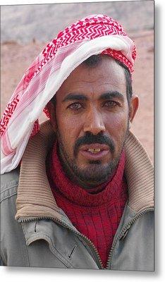 Bedouin Metal Print by David George