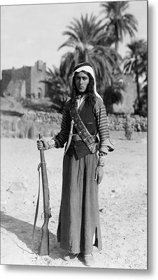 Bedouin Youth, C1926 Metal Print by Granger