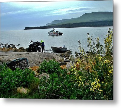 Metal Print featuring the photograph Been A Good Day At The Sea by Katy Mei