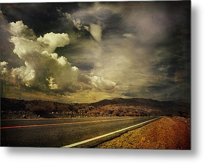 Been Down This Road Before Metal Print by Laurie Search